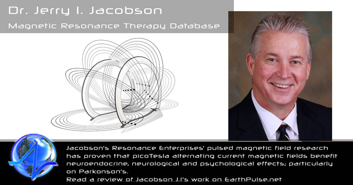 PEMF therapy Jerry I. Jacobson Magnetic Resonance Therapy Database