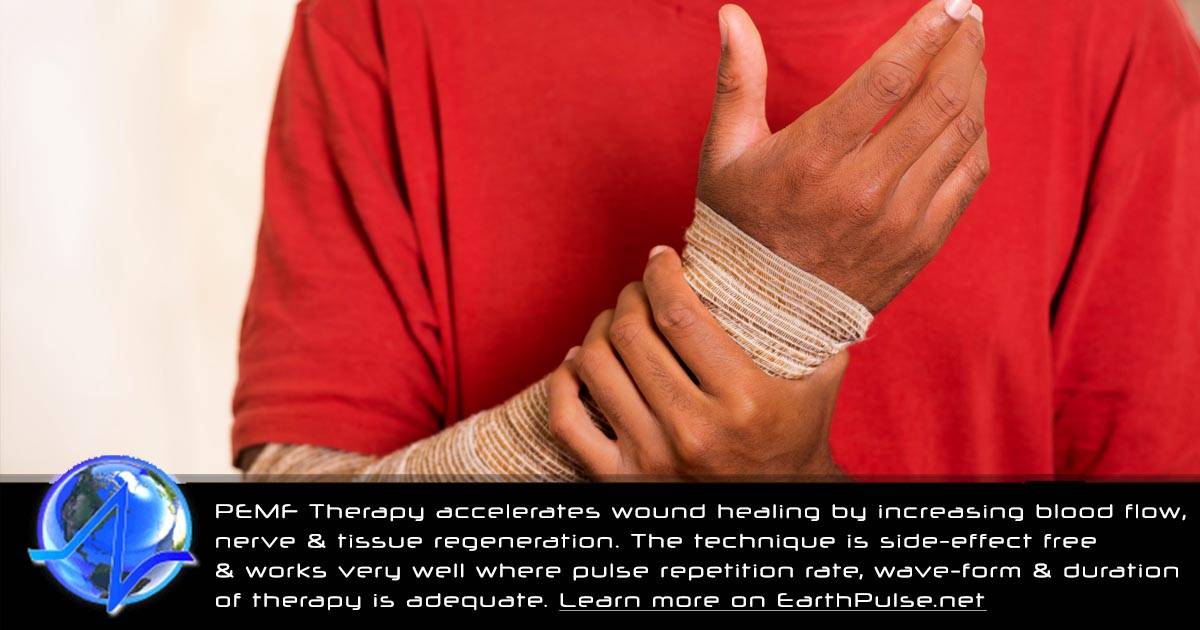 how to use PEMF therapy for wound healing