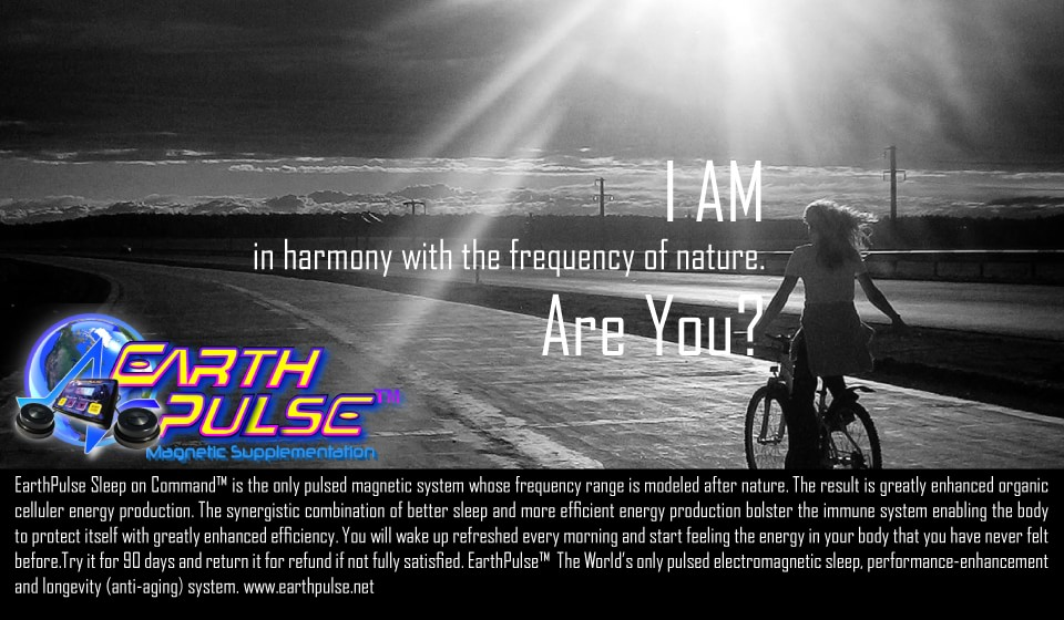 Pulsed electromagnetic field PEMF therapy with Natural magnetic frequencies of Earth