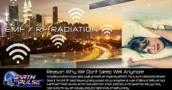 WiFi Radiation, EMF/RF: The Reason Why We Don't Sleep Well