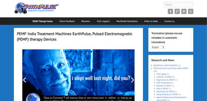 EarthPulse launches PEMF devices in India