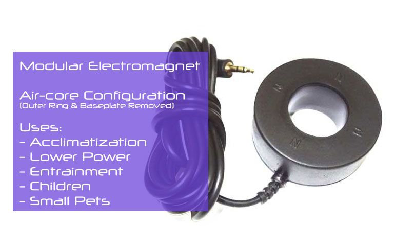 PEMF Device - Electromagnet Configuration - Aircore