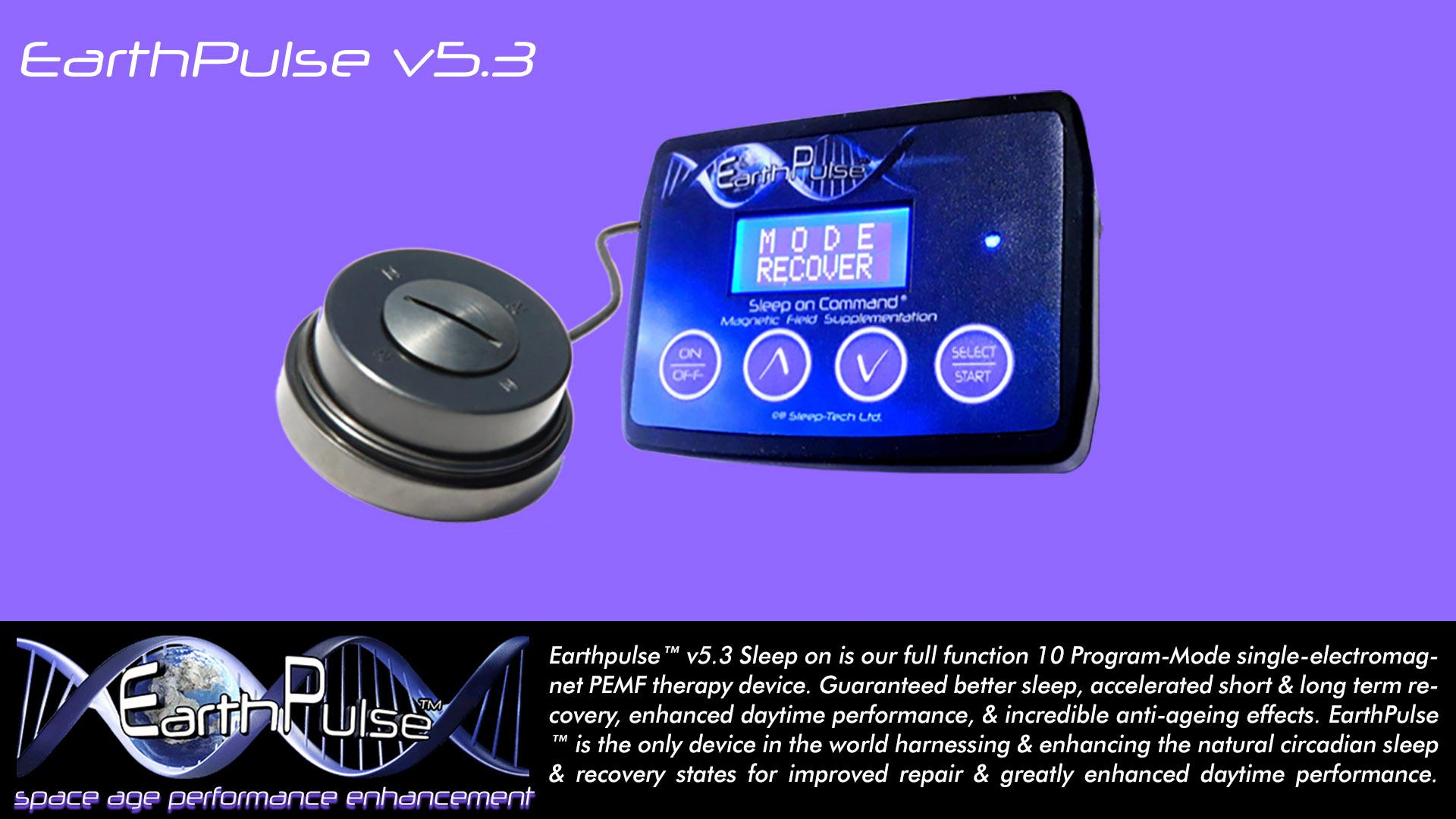 EarthPulse PEMF Device v5 Sleep on Command