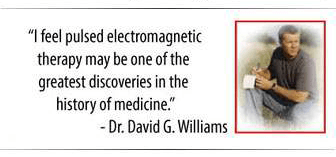 Dr David G Williams review PEMF device EarthPulse