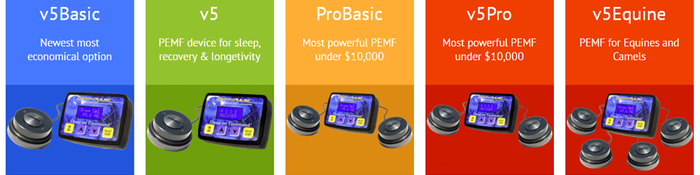 PEMF therapy devices by EarthPulse