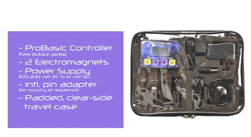PEMF therapy device - ProBasic for Athletic Training Improvement