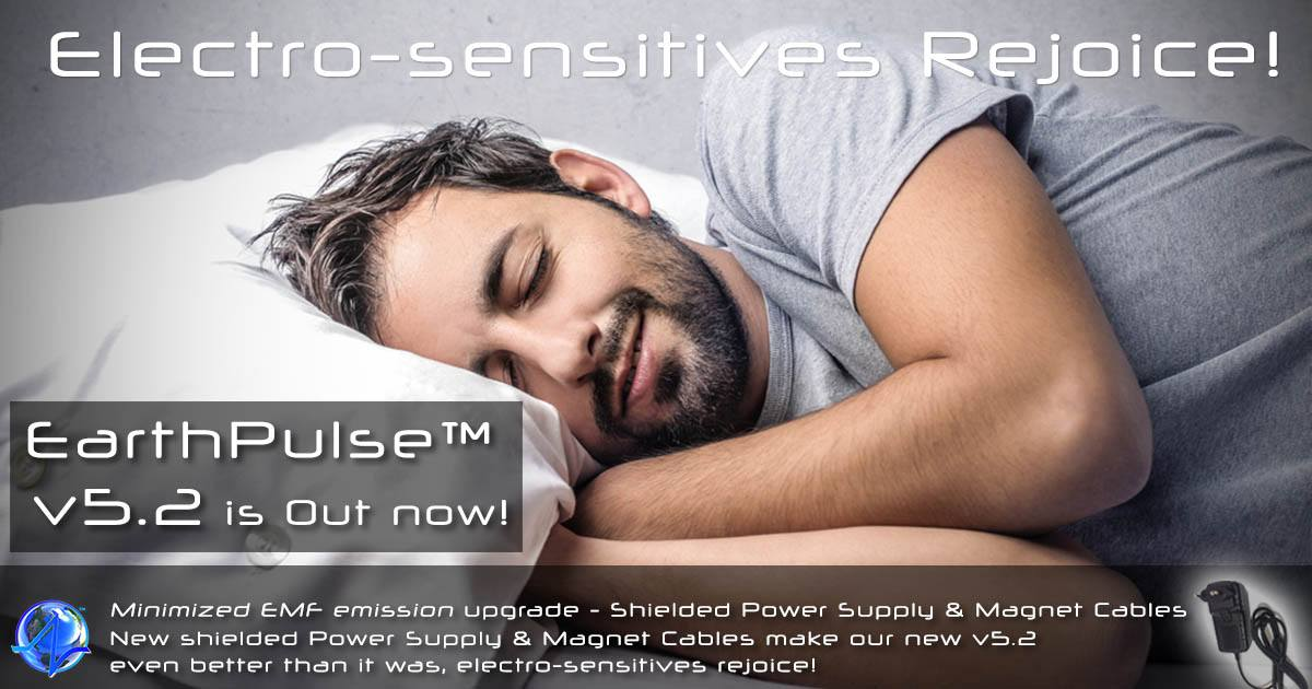 New shielded v5.2 PEMF devices are out now! Electro-sensitives Rejoice!