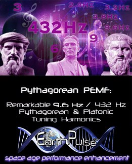 PEMF therapy report on Natural Tuning using 432 hz