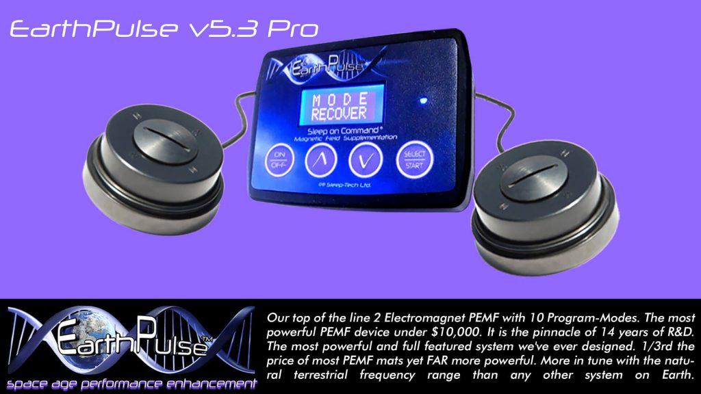 PEMF therapy device - EarthPulse v5.3 Pro