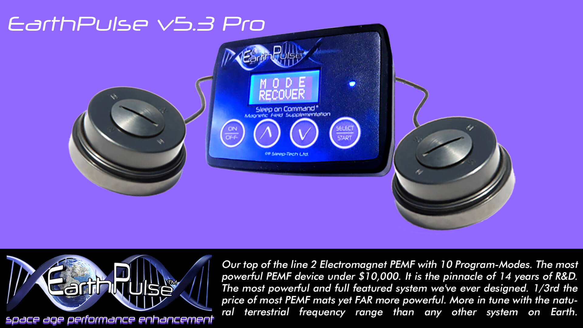 earthpulse pemf device pro