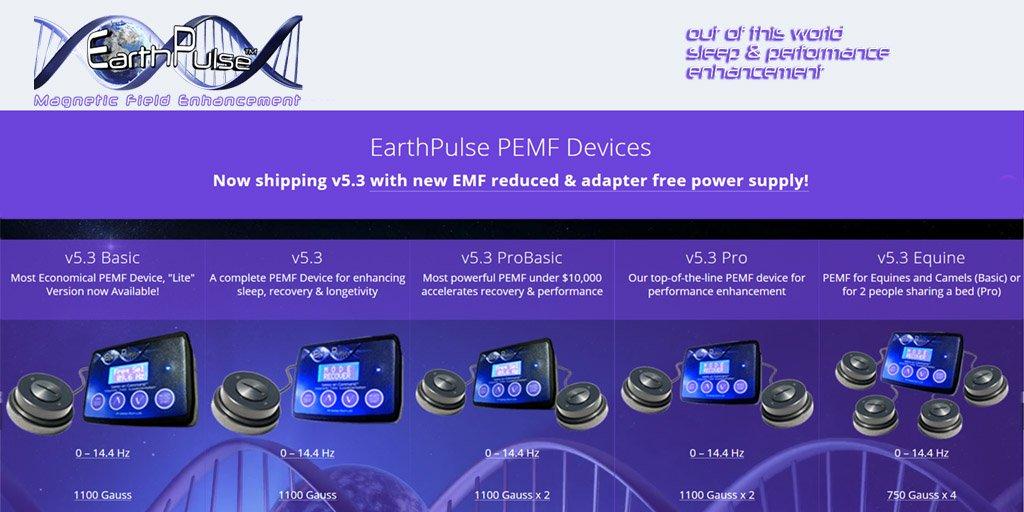 Pulsed Electromagnetic Field PEMF device by EarthPulse