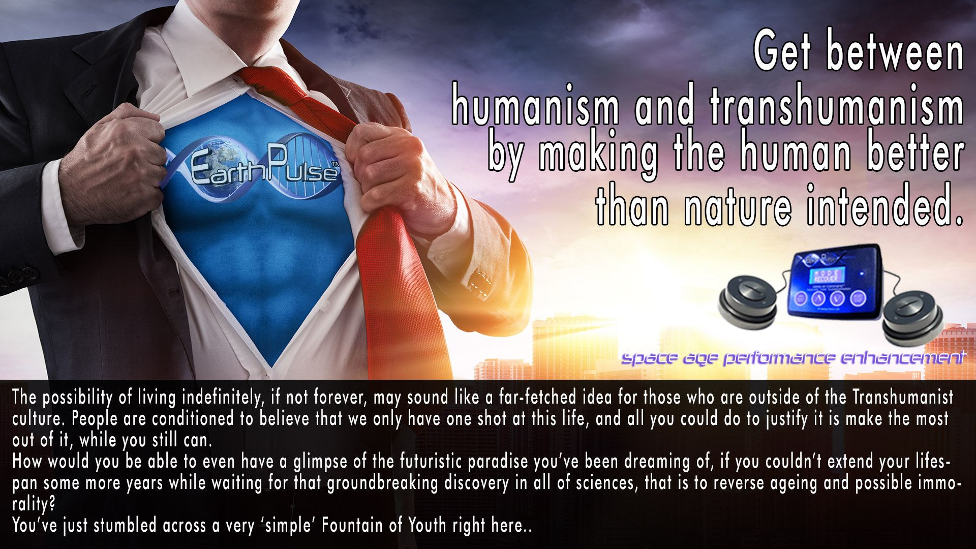 PEMf therapy and Electrical Stimulation for Transhuman Super human performance
