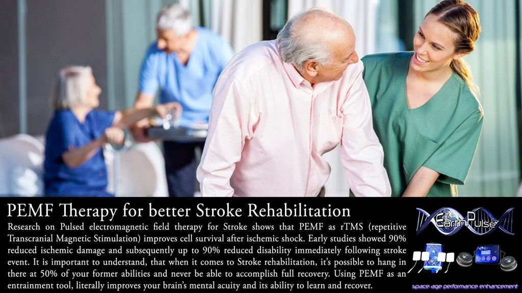 PEMF and rTMS therapy for Stroke recovery rehabilitation