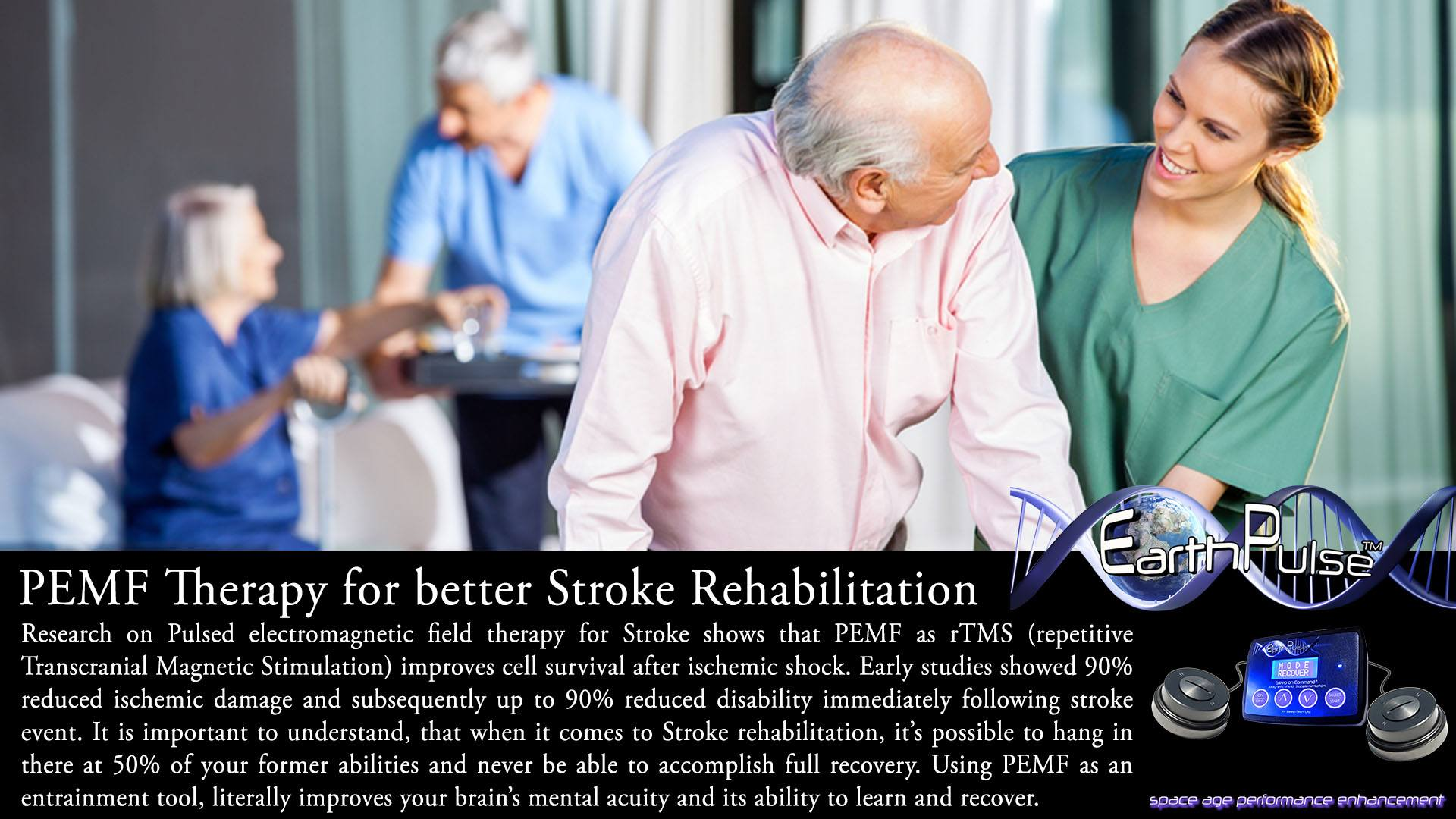 Magnetic Therapy Stroke: PEMF / rTMS Research